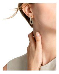 John Hardy - Metallic 18k Yellow Gold Dot Diamond Small Drop Earrings - Lyst