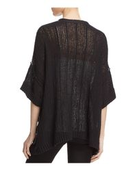 Free People - Black Beach House Brunch Cardigan - Lyst