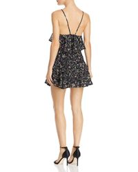 La Maison Talulah - Black Endless Serenity Mini Dress - Lyst