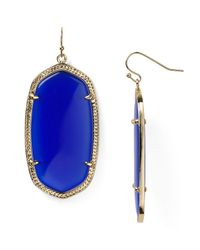 Kendra Scott - Blue Danielle Earrings - Lyst