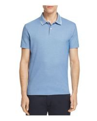 Theory - Blue Sandhurst Pique Slim Fit Polo Shirt for Men - Lyst