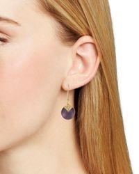Alexis Bittar - Multicolor Dangling Shepherds Hook Earrings - Lyst