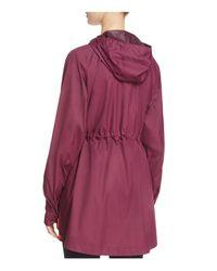 Hunter - Red The Original Packable Lightweight Raincoat - Lyst