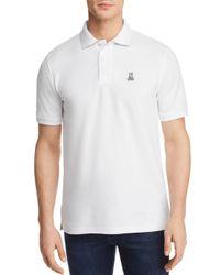 Psycho Bunny - White Neon Anniversary Polo Shirt for Men - Lyst