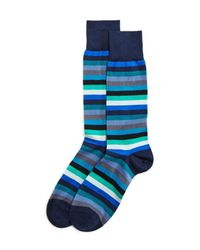 Paul Smith - Blue Thol Stripe Sock for Men - Lyst
