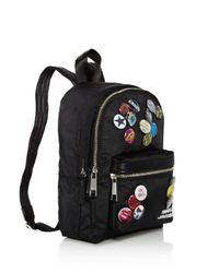 Marc Jacobs - Black Trek Pack Badges Medium Backpack - Lyst
