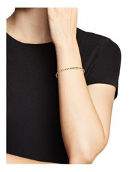 Armenta - 18k Yellow Gold Sueno Black Sapphire Eternity Bangle - Lyst