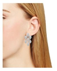 Nadri | Metallic Chandelier Drop Earrings | Lyst