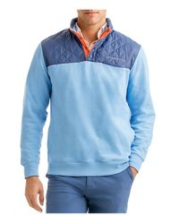 Vineyard Vines - Blue Quilted Shep Sweatshirt for Men - Lyst