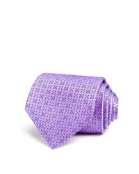 Turnbull & Asser | Purple Mini Square Dot Classic Tie for Men | Lyst