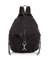 Rebecca Minkoff | Black Julian Nylon Backpack | Lyst