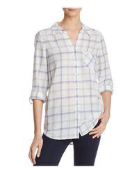Joie | Multicolor Moshina Plaid Shirt | Lyst
