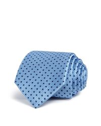 W.r.k.   Blue Stitch Dot Classic Tie for Men   Lyst