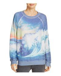 Wildfox | Blue Crush Sweatshirt | Lyst