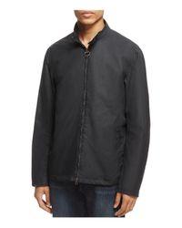 Barbour Blue Brompton Waxed Cotton Jacket for men
