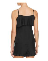 Commando - Black Butter Ruffle Cami - Lyst