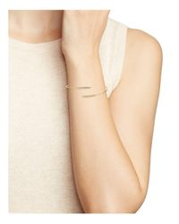 Nadri - Metallic Pavé Wrap Bangle - Lyst
