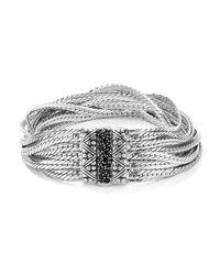 Stephen Dweck | Metallic Layered Chain Black Sapphire Bracelet | Lyst