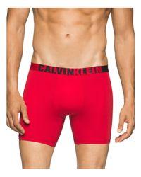 Calvin Klein   Red Ck Id Graphic Micro Boxer Briefs for Men   Lyst
