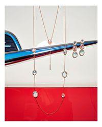 Nadri - Multicolor Stone Linear Earrings - Lyst