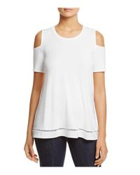 Lyssé | White Mira Top | Lyst