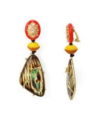 Alexis Bittar | Multicolor Clip-on Drop Earrings | Lyst