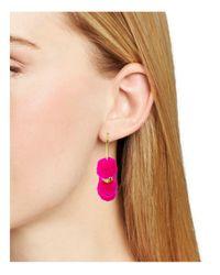 BaubleBar - Pink Havana Hoop Earrings - Lyst