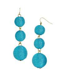 BaubleBar | Multicolor Shimmer Crispin Drop Earrings | Lyst