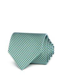 Ferragamo Green Volleyball Neat Classic Tie for men