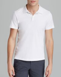 Theory - White Boyd Polo for Men - Lyst