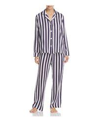 DKNY - Blue Long Sleeve Pj Set - Lyst
