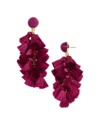 BaubleBar - Multicolor Contessa Tassel Earrings - Lyst