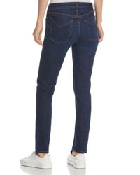 10 Crosby Derek Lam - Blue Devi Mid-rise Authentic Skinny Jeans In Dark Wash - Lyst