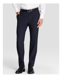 Theory   Blue Marlo Slim Fit Suit Separate Trousers for Men   Lyst