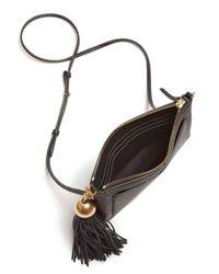 Tory Burch - Multicolor Tassel Leather Crossbody - Lyst
