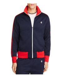 Todd Snyder | Blue Track Jacket for Men | Lyst