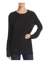 Vince - Black Cashmere Sweater - Lyst