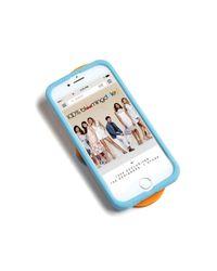 Tory Burch | Orange Flip Flop Iphone 7 Case | Lyst