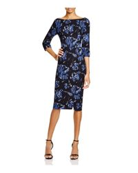 Black Halo - Blue Marissa Sheath Dress - Lyst