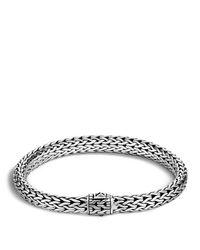 John Hardy | Metallic Classic Chain Sterling Silver Medium Bracelet | Lyst