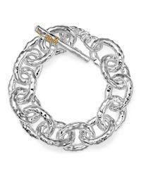 """Ippolita   Metallic Sterling Silver """"mini Bastille"""" Chain Bracelet   Lyst"""