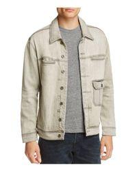 Blank NYC - Gray Denim Jacket for Men - Lyst