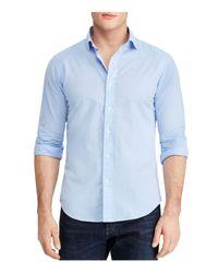 Polo Ralph Lauren - Blue Slim Fit Button-down Shirt for Men - Lyst