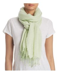 Eileen Fisher - Multicolor Lightweight Fringe Scarf - Lyst