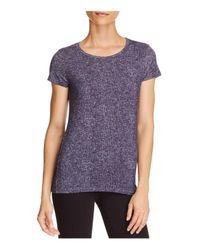 Majestic Filatures - Purple Short-sleeve Knit Top - Lyst