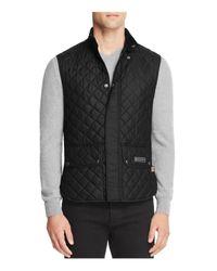 Belstaff - Black Quilted Vest for Men - Lyst