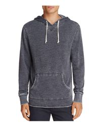 Alternative Apparel - Gray School Yard Pigment-dyed Hooded Sweatshirt for Men - Lyst