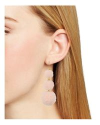BaubleBar | Pink Mykonos Drop Earrings | Lyst