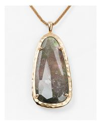 "Kendra Scott - Metallic 30"" - Lyst"