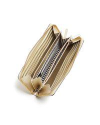 Kate Spade | Metallic Cameron Street Lacey Wallet | Lyst